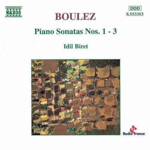 P. Boulez/Son Pno 1-3@Biret*idil (Pno)