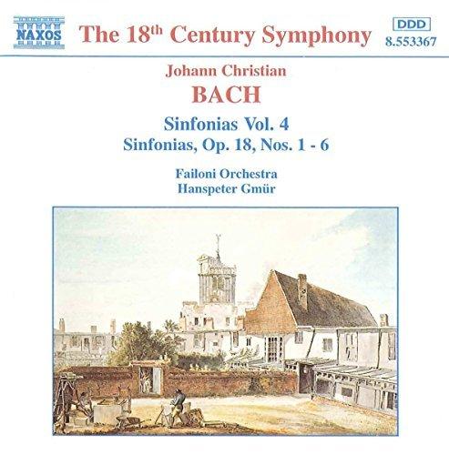 J.C. Bach/Sym 1-6 Vol 4@Gmur/Failoni Orch