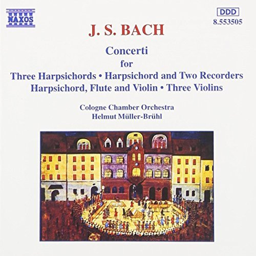 Johann Sebastian Bach/Multiple Concertos@Muller-Bruhl/Cologne Co