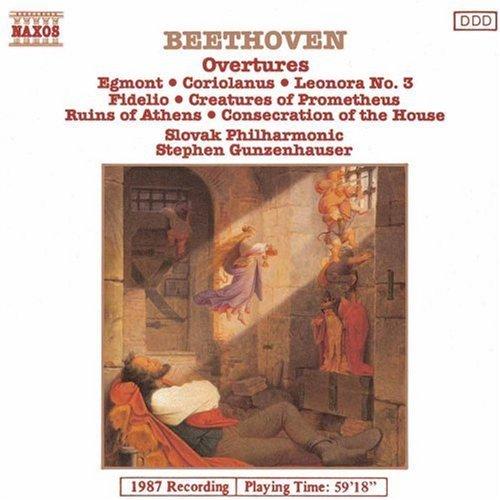 Ludwig Van Beethoven/Overtures@Gunzenhauser/Slovak Phil