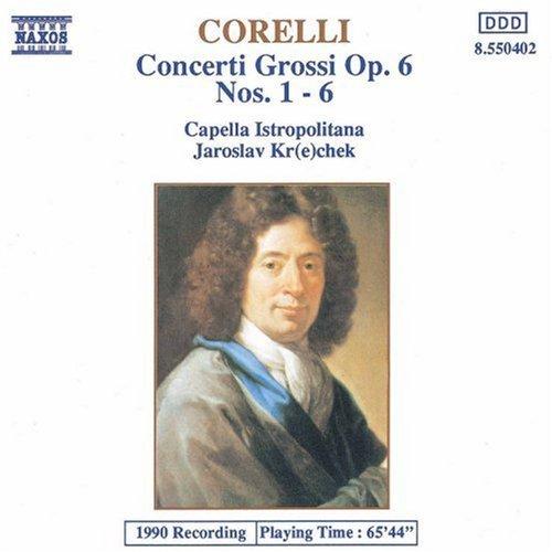 A. Corelli/Concerti Grossi Op. 6 Nos.@Holbling*a. & Q./Kanta/Ruso@Krcek/Capella Istropolitana