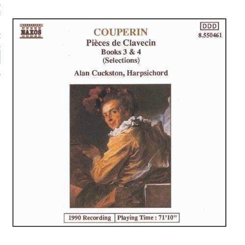 F. Couperin Pieces De Clavecin Bk 3 4 Hlts Cuckston*alan (hrpchrd)