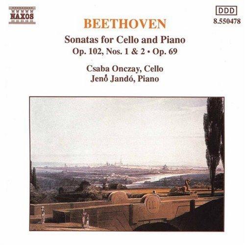 Ludwig Van Beethoven/Cello Sonatas Op. 69 & 102 No@Onczay (Vc)/Jando (Pno)