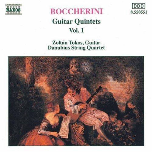 L. Boccherini/Guitar Quintets Vol. 1@Danubius Str Qt
