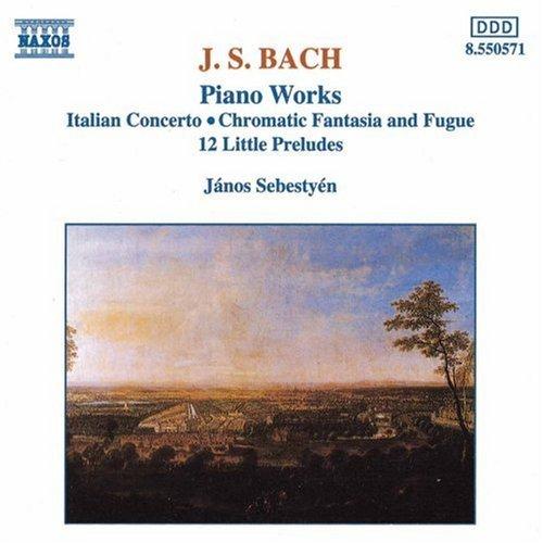 Johann Sebastian Bach/Piano Works@Sebestyen*janos (Pno)
