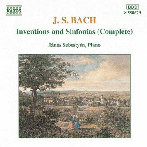 Johann Sebastian Bach/Inventions & Sinfonias@Sebestyen*janos (Pno)