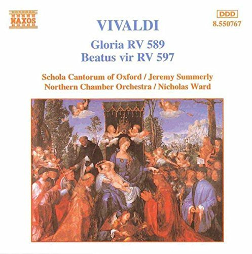 Antonio Vivaldi Gloria Rv 589 Beautus Vir Rv 5 Summerly & Ward Various