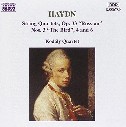 J. Haydn/Qt Str 3/4/6 Op.@Kodaly Qt