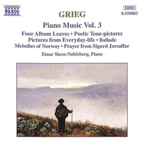 E. Grieg Piano Music Vol. 3
