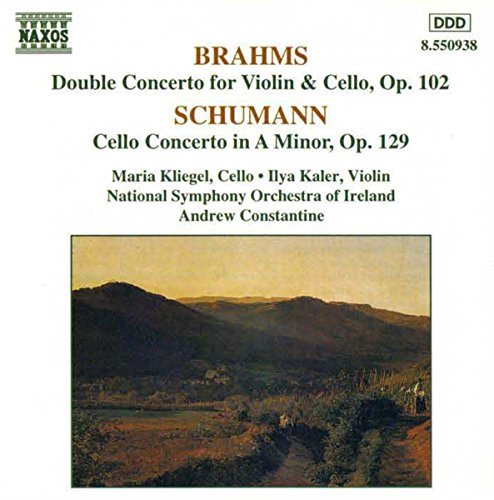 Brahms Schumann Double Concerto For Violin & C Kliegel (vc) Kaler (vn) Constantine Ireland Natl So