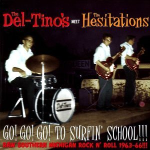 Del Tino's Hesitations Go Go Go To Surfin' School!