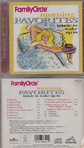 Family Circle Collection Morning Favorites Music To Wak