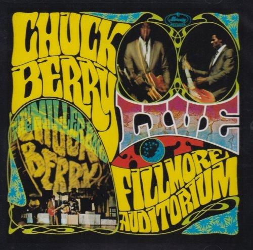 Chuck Berry/Live At Fillmore Auditorium-Sa