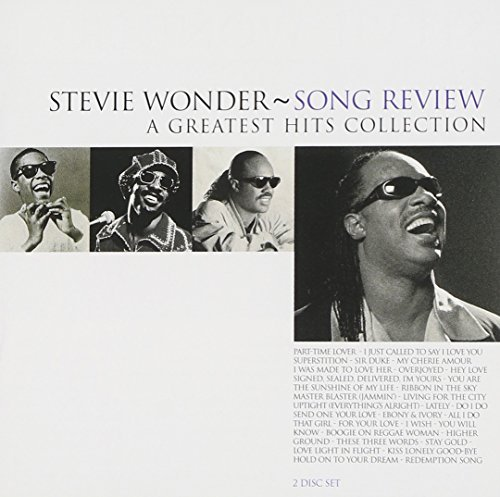 Stevie Wonder Song Review Greatest Hits 2 CD