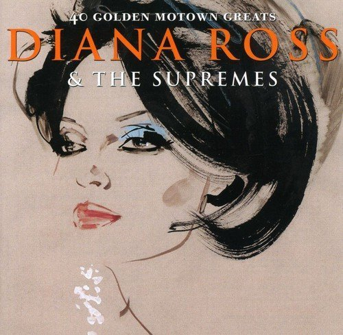 Diana & Supremes Ross 40 Golden Motown Greats Import Gbr 2 CD Set