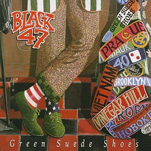 Black 47 Green Suede Shoes