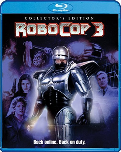 Robocop 3 Burke Allen Ryan Blu Ray R Collector's Edition