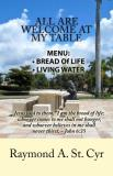 Michelle A. Abrams All Are Welcome At My Table Menu Bread Of Life Living Water