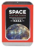 Chronicle Books Space Playing Cards Featuring Photos From The Archives Of Nasa