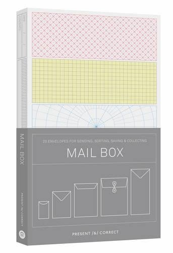 Present & Correct Mail Box 20 Envelopes For Sending Sorting Saving & Colle