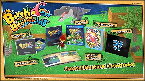 Ps4 Birthdays The Beginning Limited Edition