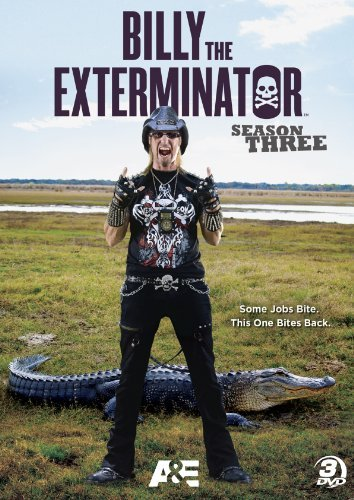 Billy The Exterminator Season 3 Pg 3 DVD
