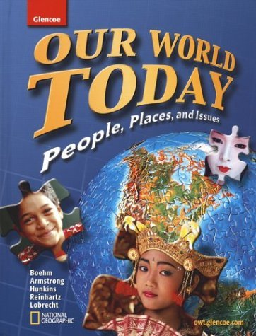 Richard G. Boehm Our World Today People Places And Issues Student