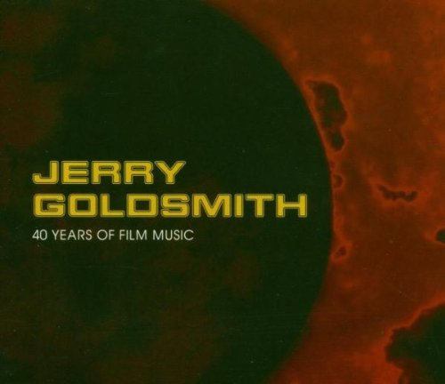Jerry Goldsmith 40 Years Of Film Music 4 CD