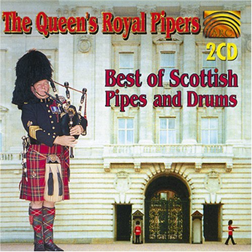 Queen's Royal Pipers Best Of Scottish Pipes & Drums 2 CD