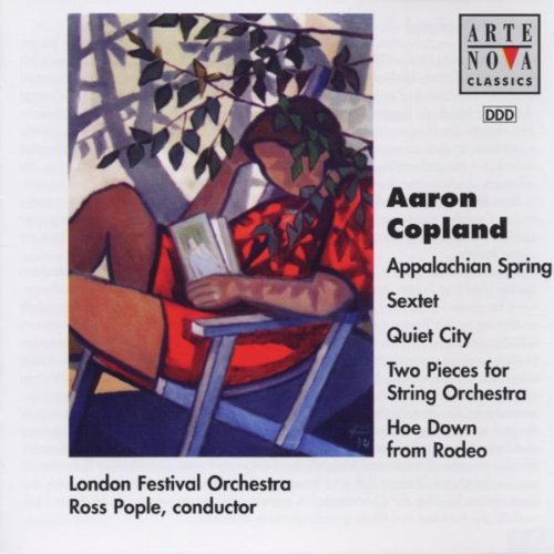 A. Copland Appalachian Quiet City Rodeo Pople London Fest Orch