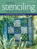 Pam Stallebrass Simple Stenciling Dramatic Quilts 85 Full Size Stencil Patterns 6 Projects
