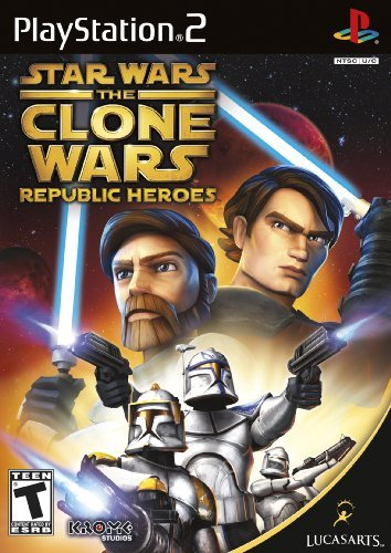 Ps2 Star Wars The Clone Wars Repubuplic Heroes