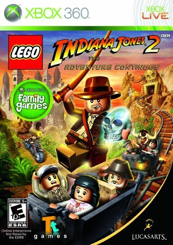 Xbox 360 Lego Indiana Jones 2 The Adventure Continues