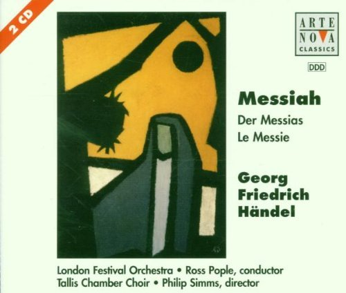 G.F. Handel Messiah Various Pople London Fest Orch