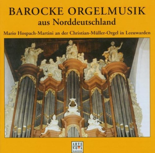Mario Hospach Martini Baroque Org Music From North Import Gbr
