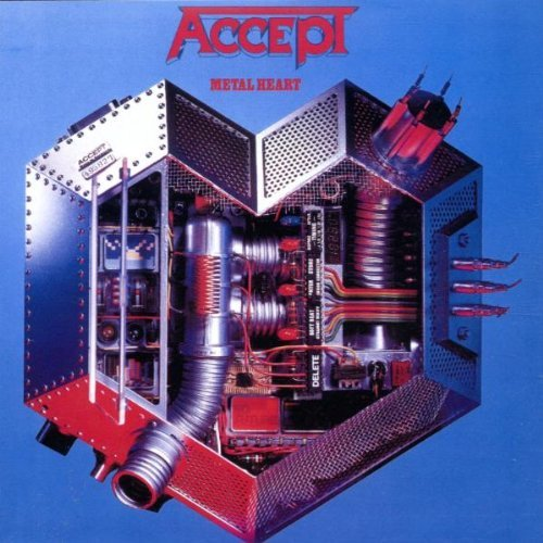 Accept Metal Heart Import Eu Incl. Bonus Tracks