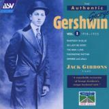 Gershwin G. Authentic Vol. 1 Gibbons*jack (pno)