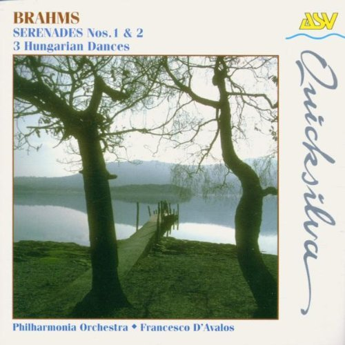 J. Brahms Ser 1 2 Hungarian Dances 1 3 D'avalos Phil Orch