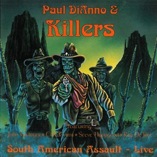 Paul Di'anno South American Assault Live