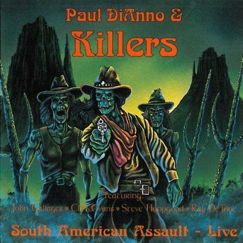 Paul Di'Anno/South American Assault-Live