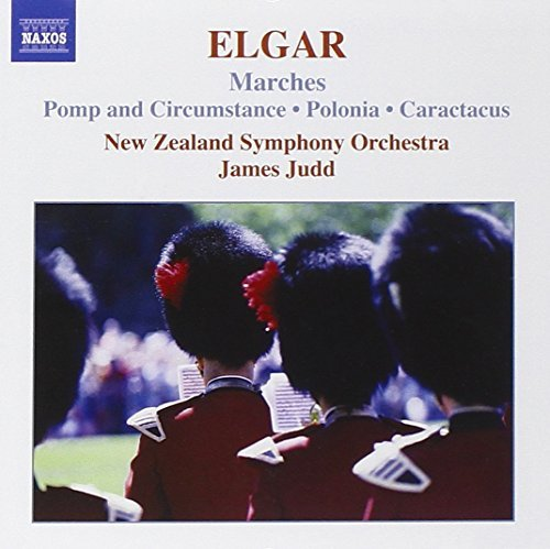 E. Elgar Marches Pomp & Circ Cpte Judd New Zealand So