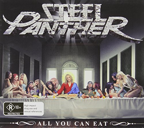 Steel Panther All You Can Eat CD DVD (austra Import Aus
