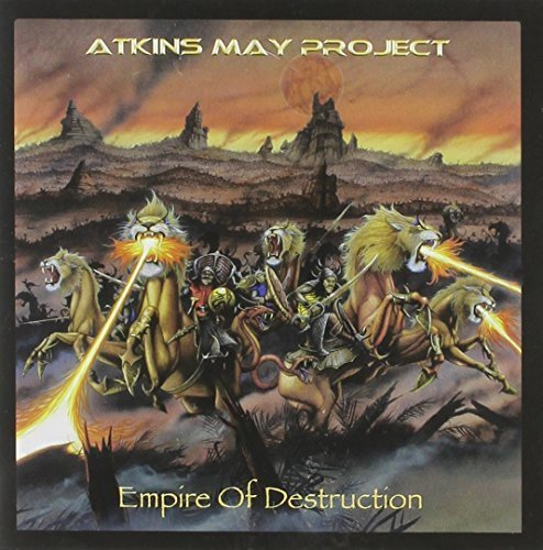 Atkins May Project Empire Of Destruction Incl. DVD