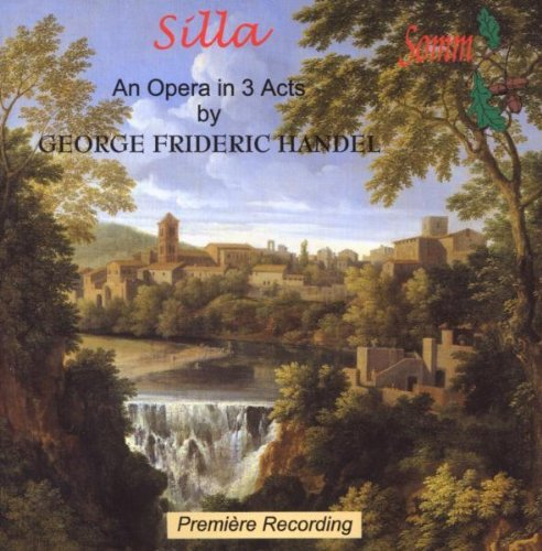 George Frideric Handel Silla' Opera In 3 Acts 2 CD