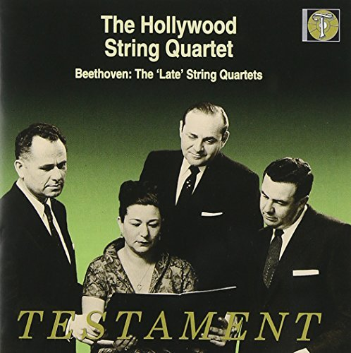 Ludwig Van Beethoven String Quartets Nos.12 16 Hollywood Str Qt