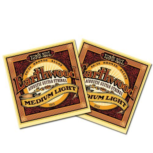Ernie Ball Earthwood Acoustic Medium Light
