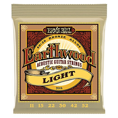 Ernie Ball Earthwood Acoustic Light Guages 11 15 22 30 42 52