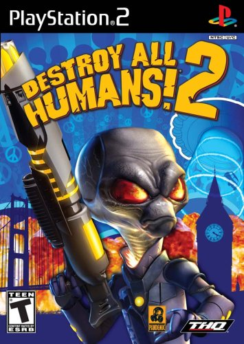 Ps2 Destroy All Humans 2 Thq