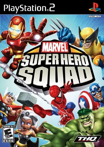 Ps2 Super Hero Squad Thq