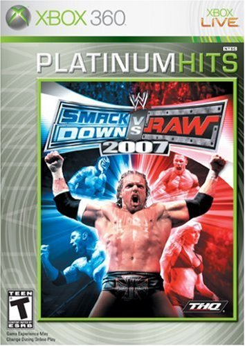 Xbox 360 Wwe Smackdown Vs Raw 2007 Thq